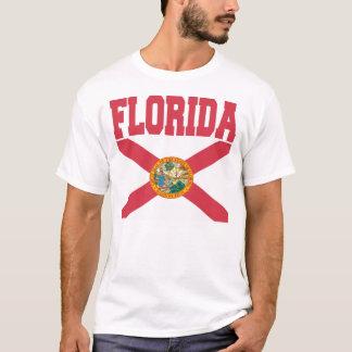T-shirt da bandeira do estado de Florida