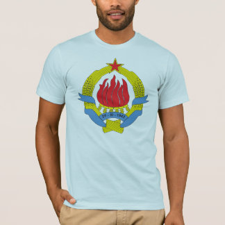 T-shirt da brasão de Jugoslávia 1963) (