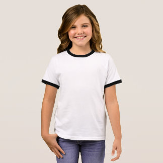 T-shirt da campainha da menina