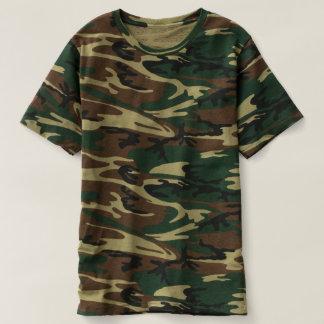 T-shirt da camuflagem dos homens