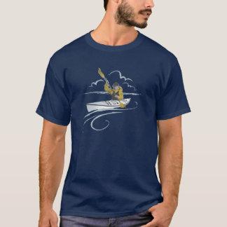 T-shirt da cara do caiaque