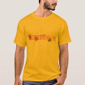 T-shirt da cervejaria do fruto da faia