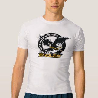 T-shirt da compressão do logotipo de VYHA