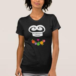 t-shirt da cozinha da colar da fruta do cozinheiro