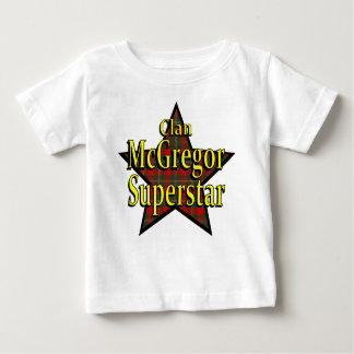 T-shirt da criança da estrela mundial de McGregor