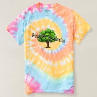 t-shirt da erva daninha