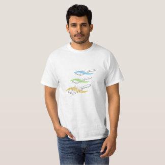 T-shirt da escova do cabeleireiro