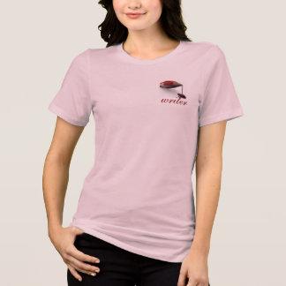 T-shirt da estatística do escritor para ela