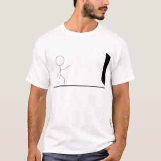 T-shirt da estratégia de saída