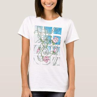 T-shirt da flor