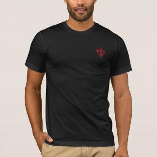 T-shirt da flor de lis