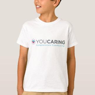 T-shirt da juventude de YouCaring