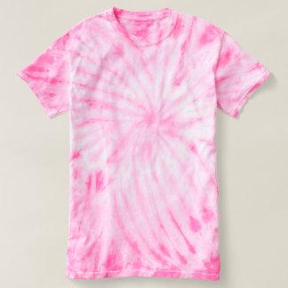 T-shirt da Laço-Tintura do ciclone das mulheres
