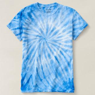 T-shirt da Laço-Tintura do ciclone dos homens