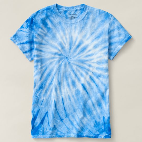 Camiseta Cyclone Tie-Dye, Royal