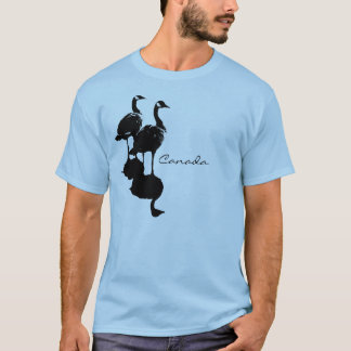 T-shirt da lembrança do ganso de Canadá &