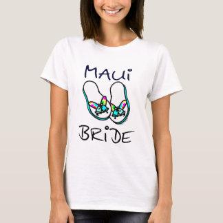 T-shirt da noiva de Maui