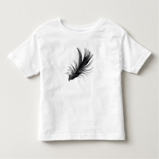 T-shirt da pena da criança