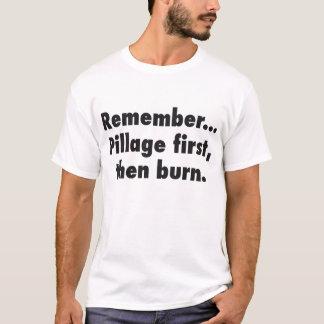 T-shirt da pilhagem