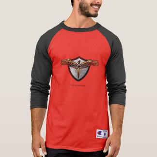 T-shirt da raglan-luva dos guardiães
