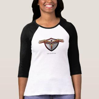 T-shirt da raglan-luva dos guardiães (mulheres)