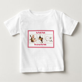 T-shirt da rima de berçário para crianças
