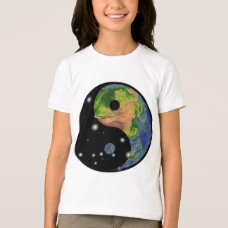T-shirt da terra de Yin Yang