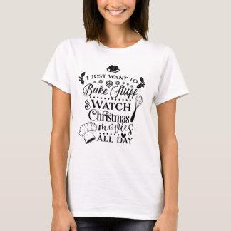 T-shirt da tipografia dos filmes do Xmas do