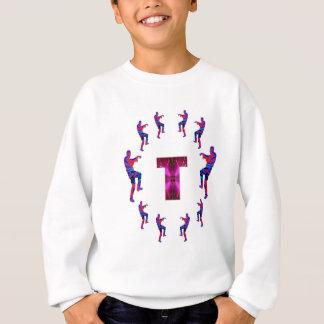 T-shirt Dança do ZOMBI com alfabetos: A a Z