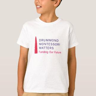 T-shirt das matérias de Drummond Montessori