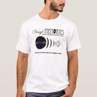 T-shirt das memórias do vinil