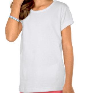 T-shirt das meninas da aguarela do verão
