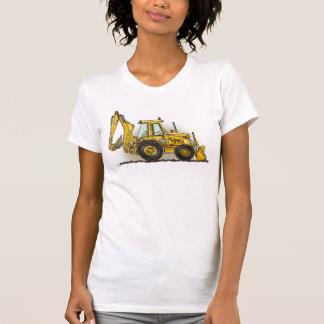 T-shirt das meninas do Backhoe
