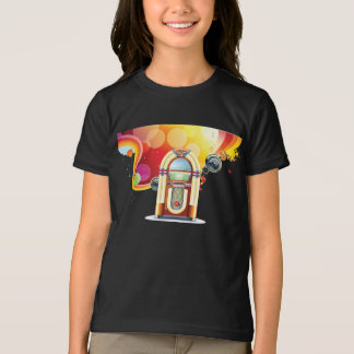 T-shirt das meninas do jukebox