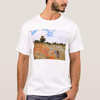 T-shirt das papoilas de Monet