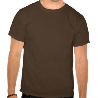 T-shirt das pegadas de Squatch