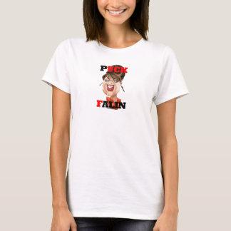 T-shirt das senhoras de Falin do disco