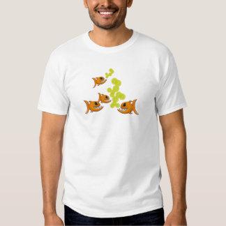 T-shirt das senhoras dos peixes