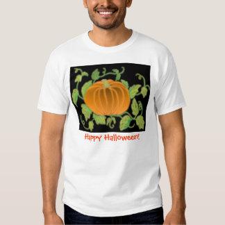 T-shirt das videiras de abóbora do Dia das Bruxas