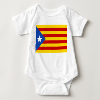 """T-shirt De """"bandeira Catalan da independência L'Estelada"""
