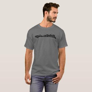 T-shirt de Camaro da velha escola