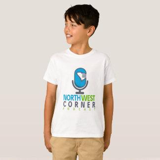T-shirt de canto noroeste dos meninos do Podcast