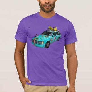 "T-shirt De ""carro da arte Aralyn """