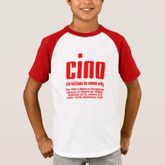 T-shirt de CINO (apenas para as crianças do deus!)