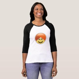 T-shirt de Emoji do turbante do smiley de Guru da