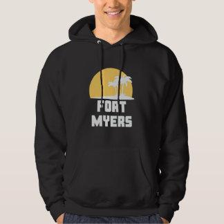 T-shirt de Fort Myers das palmeiras