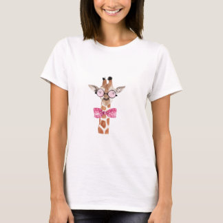 T-shirt de Girafe do hipster