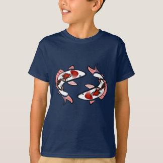 T-shirt de Kohaku Koi das carpas