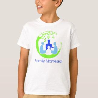 T-shirt de Montessori da família