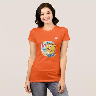 T-shirt de North Carolina VIPKID (alaranjado)